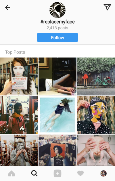 Use creative and niche hashtags on Instagram and offer a refreshing feel to your followers