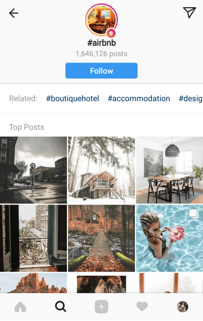 Help users discover your brand and engage with you through Instagram